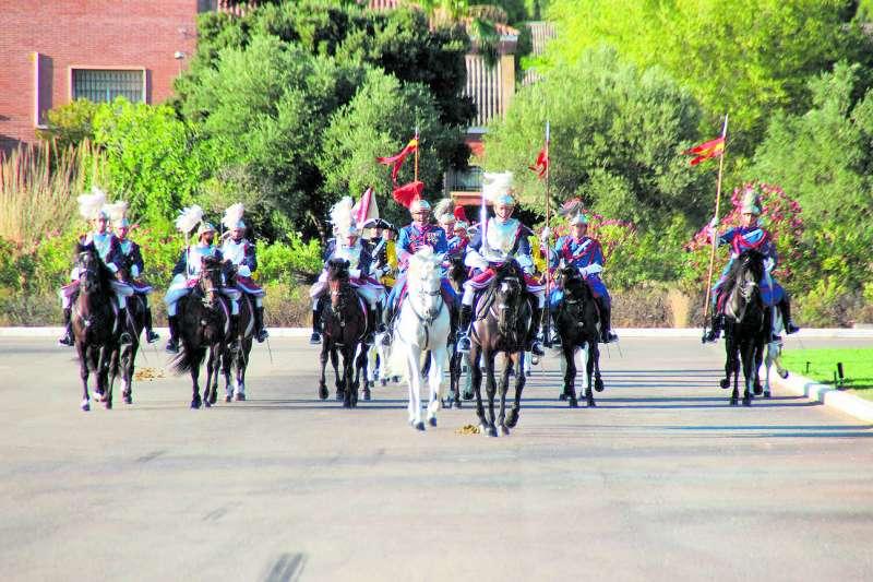 Celebración militar en Marines. EPDA