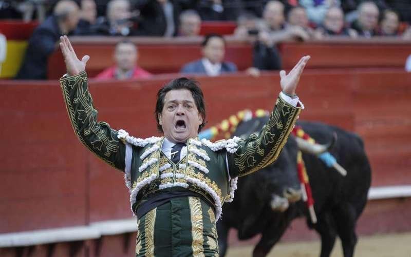 El diestro valenciano Vicente Ruiz