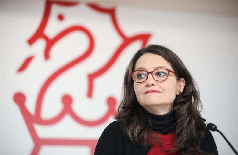 La vicepresidenta y Portavoz del Gobierno valenciano, Mónica Oltra. EFE/ Ana Escobar/Archivo