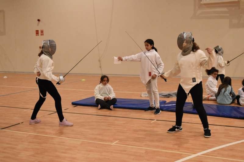 Participantes del encuentro deportivo. EPDA