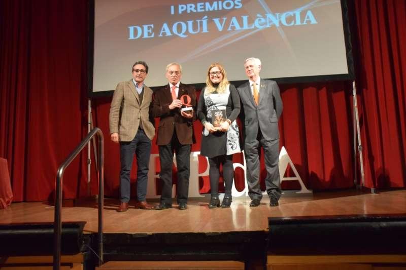 Enrique Senent recogía el Premio Turismo a la iniciativa cultural del Camino del Santo Grial en febrero de este año. FOTO PLÁCIDO GONZÁLEZ