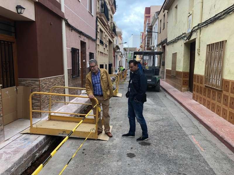 Albal inicia las obras  recuperación y reforma de su centro histórico