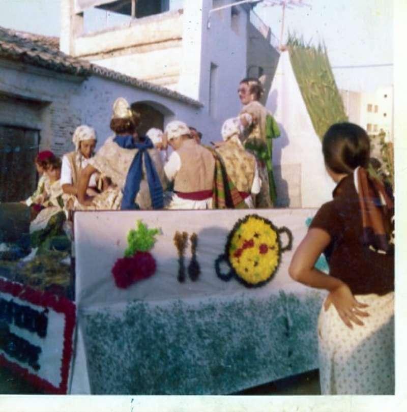 Primera Cabalgata en 1975. / Archivo JSMS.