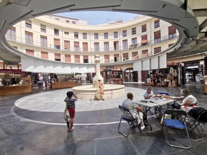 La Plaza Redonda de Valencia. B. BUENO