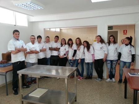 Alumnos del PQPI. Foto: EPDA.