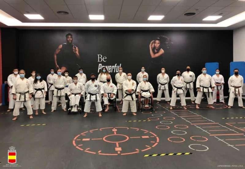 Selección nacional de para-karate