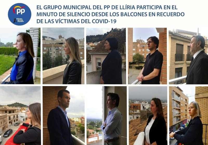 Grupo municipal del PP de Llíria