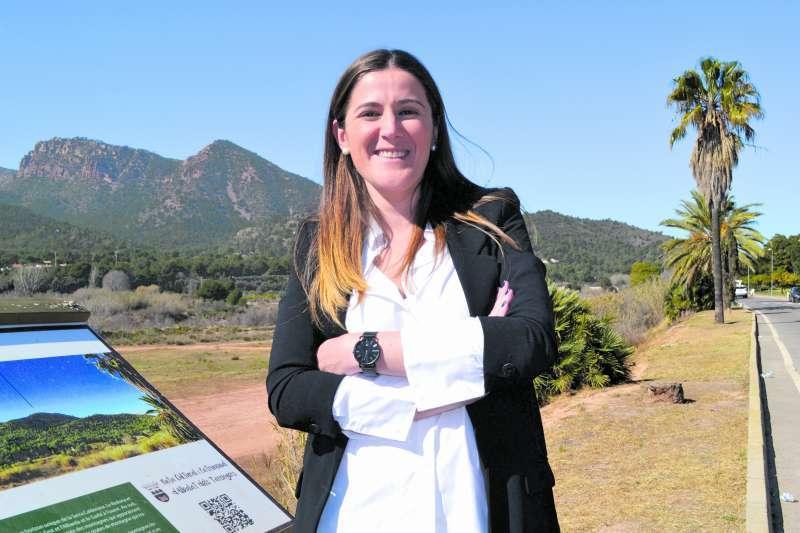 La alcaldesa de Albalat dels Tarongers, Maite Pérez. EPDA