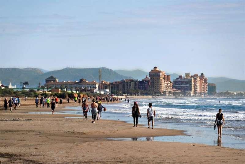 Playa Alboraia. EFE/Manuel Bruque