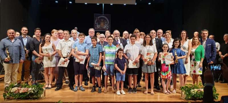 Gala de la Música celebrada en Moncada. EPDA