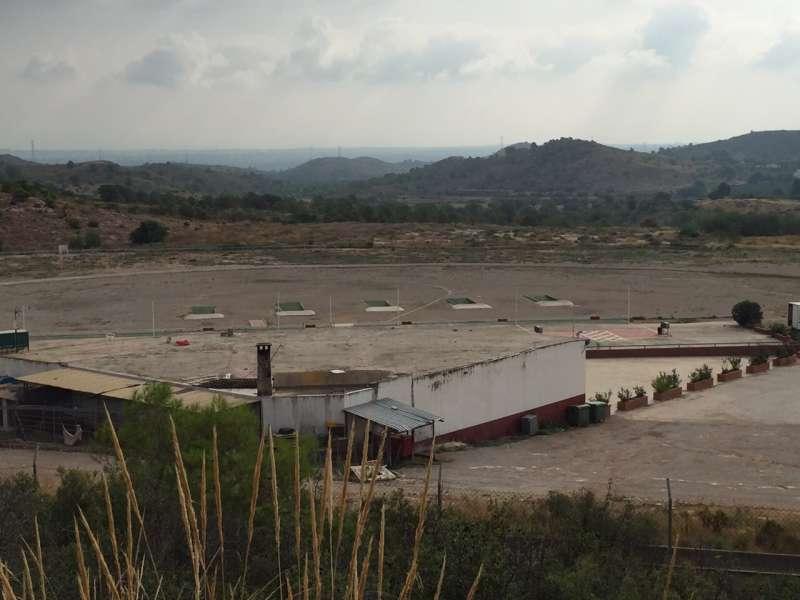 Campo de tiro de Riba-Roja. / EPDA