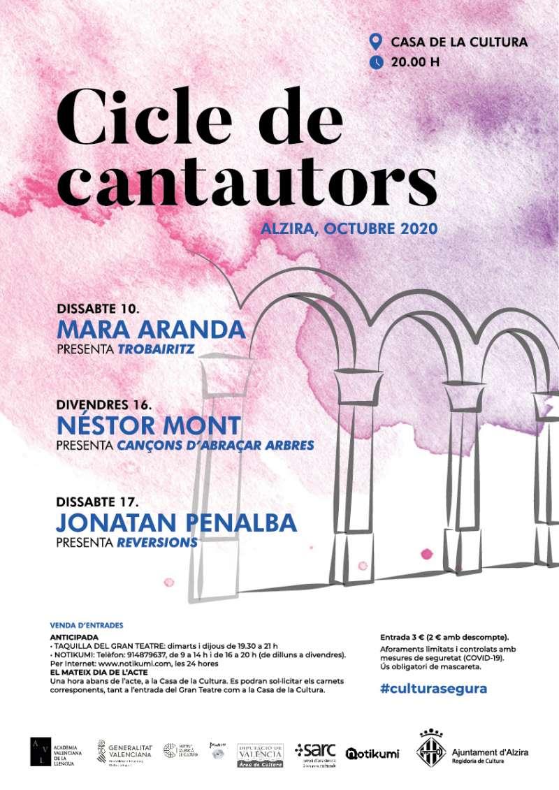 Cartel Ajuntament Alzira