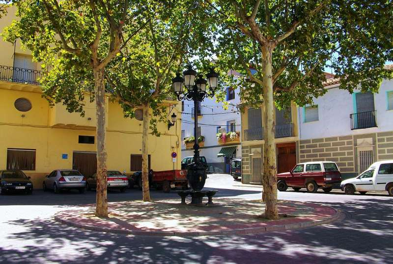 Plaza del Mesón de Soneja