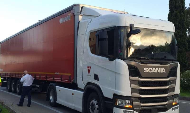 Conductor del camió. EPDA.