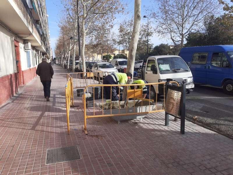 Mantenimiento de las calles. EPDA