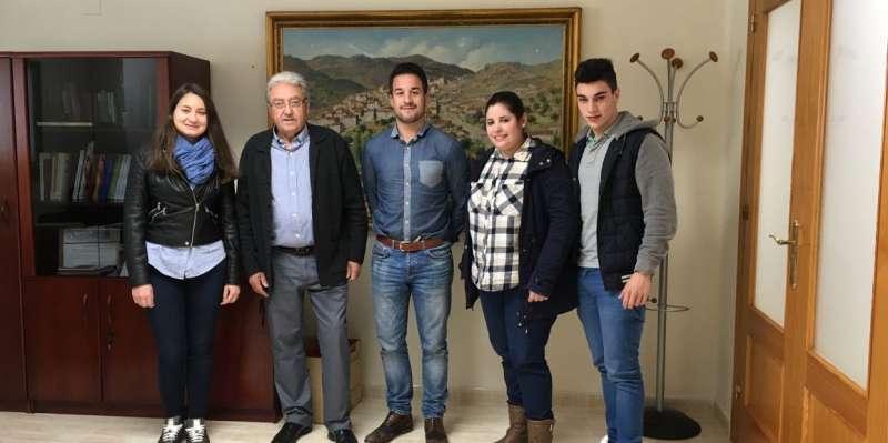Los jóvenes que han participado en el Salario Joven. //EPDA